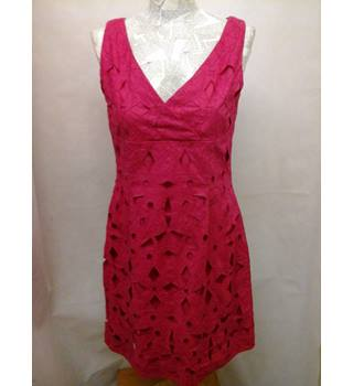 BNWT NEW Hobbs - Size: 10 -  Rose Pink, knee length dress