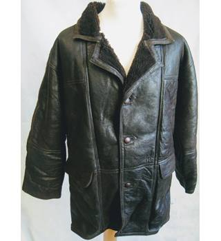 Mavi's chocolate brown sheepskin lined jacket size L Mavi's - Size: L - Brown - Jacket