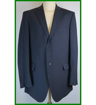 M&S Marks & Spencer - Size: L - Dark navy blue - Single breasted suit