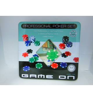 Professional Poker Set - Game On