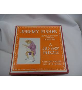 Jeremy Fisher Jig Saw Puzzle