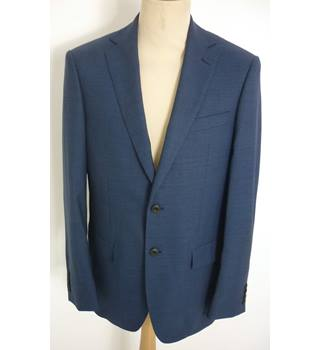 "M & S  Size: M, 38"" chest, regular fit Blue Smart/Stylish Pure New Wool ""Luxury ""Single Breasted Jacket"