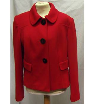 M&S Marks & Spencer - Size: 14 - Red - Jacket