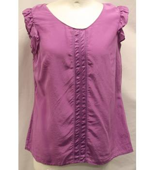 M&S Marks & Spencer - Size: 12 - Purple - Blouse