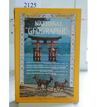 National Geographic Vol 132  No 3. September 1967