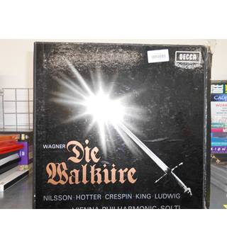Wagner / Nilsson, Hotter, Crespin, King, Ludwig, Vienna Philharmonic Orchestra, Solti ‎– Die Walküre Wagner - MET 312-6