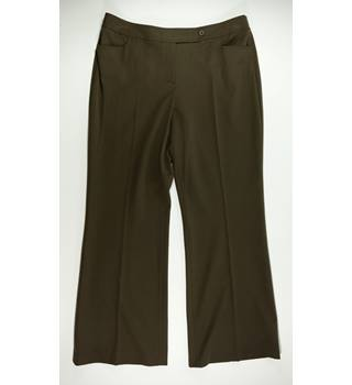 Monsoon - Size: 14 - Brown - Trousers