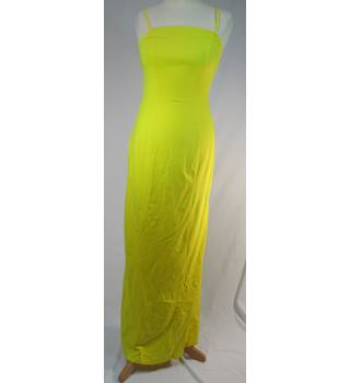 ASOS - Size: 8 - Bright Yellow - Long dress