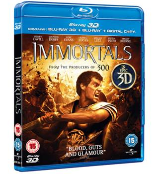 IMMORTALS 15 Blu-Ray