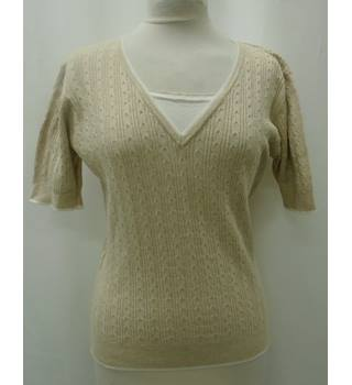 Country Casuals - Size: S - Beige - Jumper