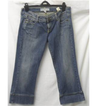 Pull and bear - Size: 14 Blue - Denim - Cropped jeans