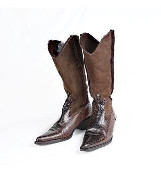 Russell & Bromley Brown Boots - Size: 4
