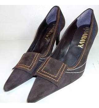 Paco Herrero Brown Suede shoes. size 36. Paco Herrero - Size: 3 - Brown - Heeled shoes