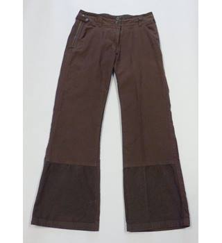 BNWT FAT FACE Size 10 brown Trouser