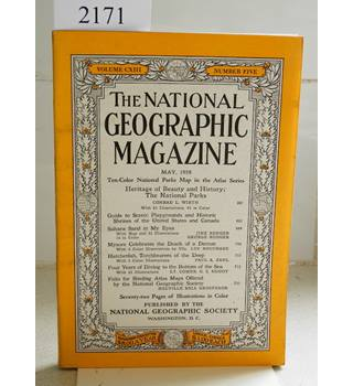 National Geographic Volume (CXIII) 113. No. 5. May 1958