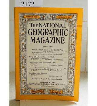 National Geographic Volume (CXIII)  113. No. 4. April 1958