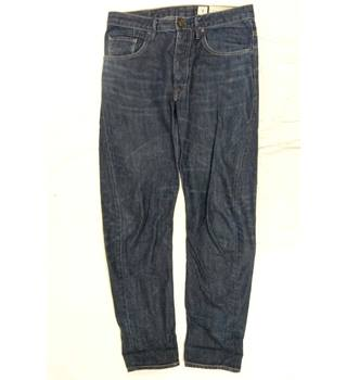 All Saints Blue Cotton Jeans in a 32 inch waist size