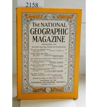 National Geographic Volume 114 (CXIV) No. 3. September 1958