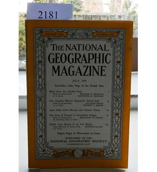 National Geographic Volume 114  No. 1.  July 1958