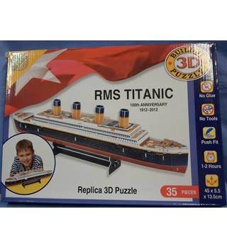 3D Model - RMS Titanic 100th Anniversary 1912-2012 As new