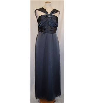 Lazaro, size 16 grey evening dress