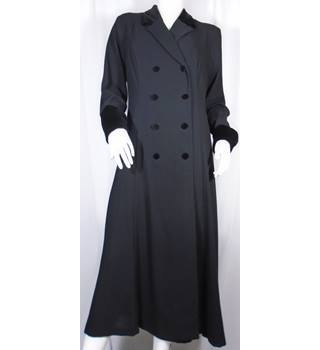 BNWT Debenhams, size 16 black evening coat