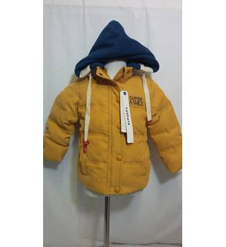 Yannafu BNWT mustard duck down hooded winter coat size 3-4 years Yannafu - Size: 3 - 4 Years - Yellow - Quilted coat