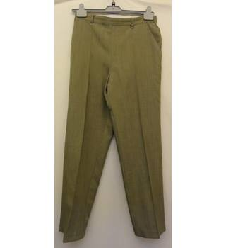M&S Marks & Spencer - Size: 14 - Khaki Trousers