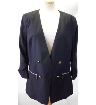 BNWT Debenhams Size 14 Black Jacket & Trouser Set
