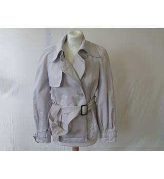 ARMANI EXCHANGE WOMEN'S BIKER STYLE JACKET ARMANI EXCHANGE - Size: M - White - Casual jacket / coat