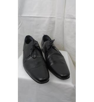 BRAND NEW NEXT MEN'S LEATHER SHOES, SIZE 11.5 Next - Size: 11.5 - Black