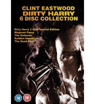 Dirty Harry 6 Disc Collection 18