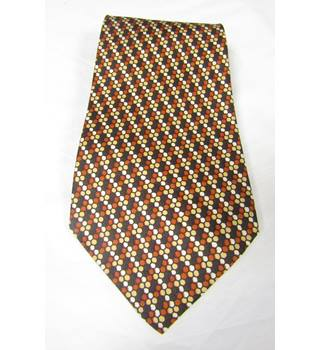 VINTAGE - Roland - Size: One size - Honey Comb Pattern - Tie