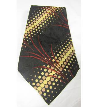 VINTAGE - Tessom - Size: One size - Black Paisley - Tie