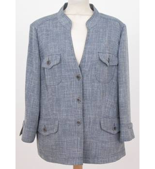 Viyella - Size: 16 - Blue - Casual jacket / coat