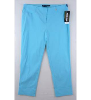 BNWT - Robell - Size: 18 - Blue - Trousers