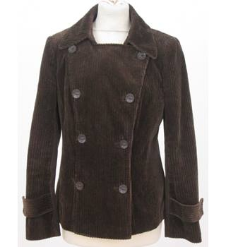 Per Una - Size: 12 - Brown - Chorduroy jacket