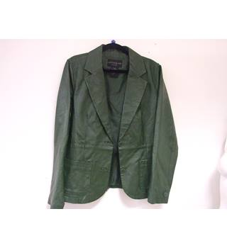 Vintage Centigrade, size L green fitted blazer