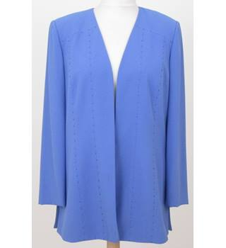 Gina - Size: 18 - Blue - Smart jacket / coat