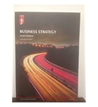Business strategy. Study manual