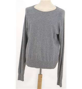 Mulberry Size XL Grey Cashmere Jumper