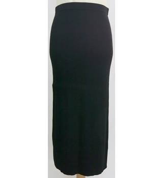 BNWT Jigsaw - Size: 10 - Black - Long Rib skirt
