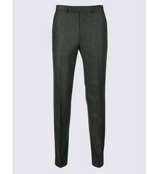 "M&S collection luxury regular charcoal wool trousers M&S Marks & Spencer - Size: 34"" - Grey - Trousers"