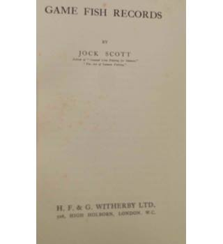 Game Fish Records