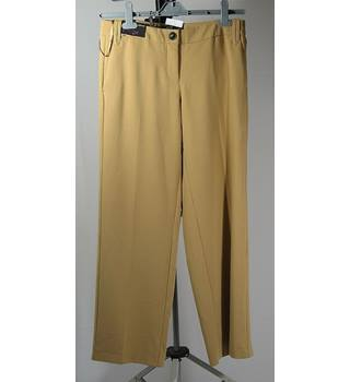 "BNWT Next Tailoring Slouch Trousers - Camel - Size 8R Next - Size: 26"" - Beige"