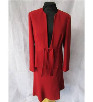 Wallis size: 14 petite red 2 piece suit