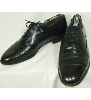 Bally - Size: 9 - Black - Derby Bench Made Shoes