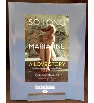 So Long, Marianne - A Love Story (Large Print)