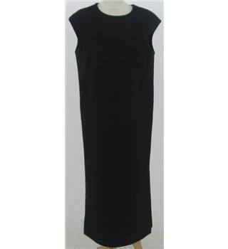 M&S Autograph size: 8 black sleeveless shift dress