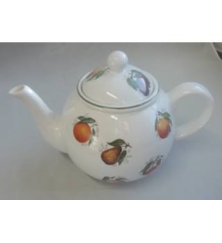 Vintage Arthur Wood Teapot Decorated Fruit